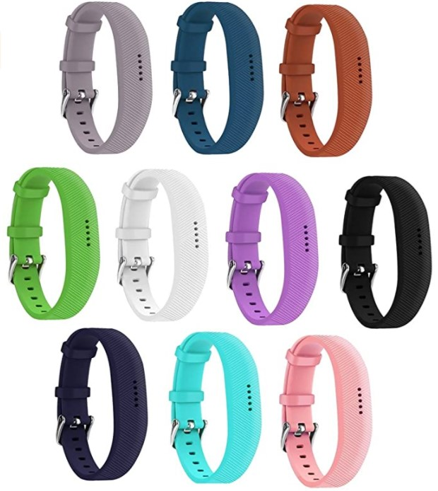 EverAct Silicone Bands Compatible with Fitbit Flex 2